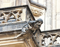 gargoyle St. Vitus Cathedral Prague