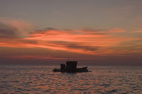 Sunset on the sea,Phu,Quoc,Vietnam,Southeast,Asia
