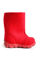 Children winter felt boot
