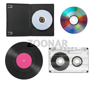 Set of music equipment