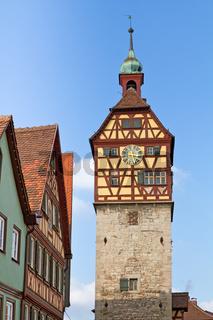 Historischer Turm in Schwäbisch Hall, Deutschland