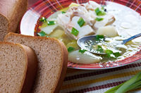 Ukha. Russianl fish soup.