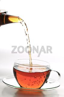 Tee im Glas