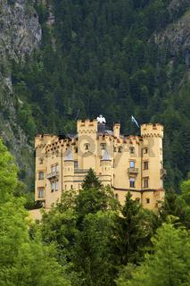 Schloss Hohenschwangau, Allgäu, Bayern,Deutschland