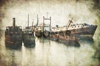 Geisterschiff, Wrack, Schiffswrack, Schiff