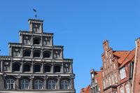 Stepped gable in Lueneburg