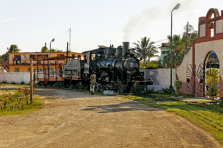 Dampflok, José Smith Comas, Kuba