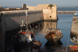 El-Jadida harbour. Morocco