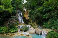 Kuang Sii Waterfall, Luang Prabang/Lao