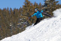 carving skier