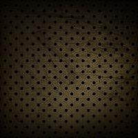 Dark polka dot grunge background