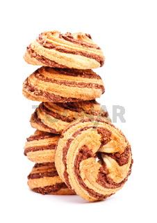 cinnamon cookies tower