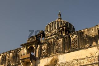 Jahangir Mahal in Orchha. Madhya Pradesh, India
