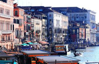 Venice from Railto Bridge