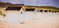 Sandy Beach and huts