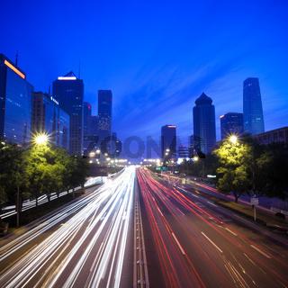 night scene of chinese beijing