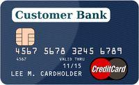 Blue Creditcard