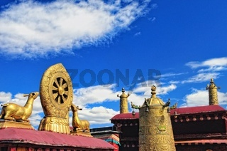 Dharmachakra Jokhang Tempel  Tibet China