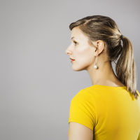 sideview woman
