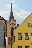 Old Town of Berching, Bavaria, Germany