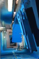blue powder coating plant