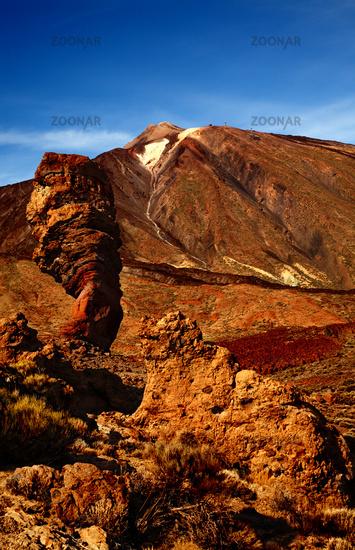 Volcano Teide with Roque Cinchado