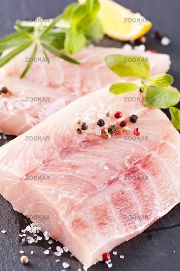 ocean perch with herbs and spices