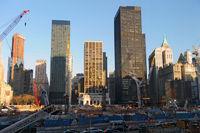 Ground Zero, Manhattan in New York City (USA)