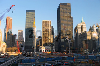 Ground Zero, Manhattan in New York City (USA)