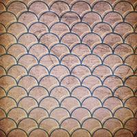 Grunge swirl rays retro background