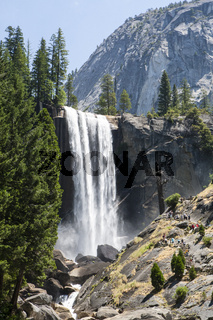 Vernal Falls im Yosemite National Park, Kalifornien, USA