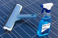 Solarzellen und Reinigungsmittel - deutsch