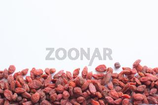 Goji Berries margin decor