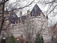 Winter Fairmont Chateau