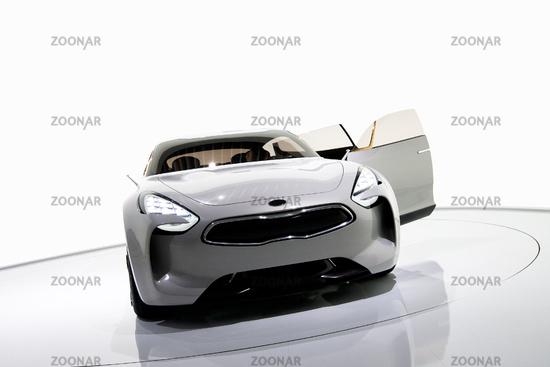 Futuristic sport sedan