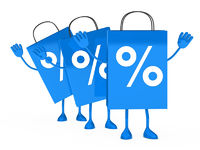 Blue sale percent bags wave
