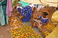 Markte in Djenné