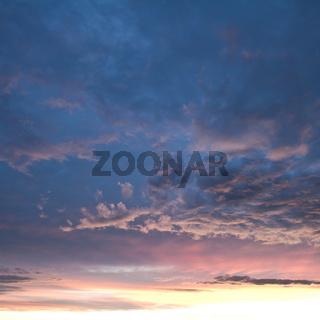 Sky and Clounds after Sunset