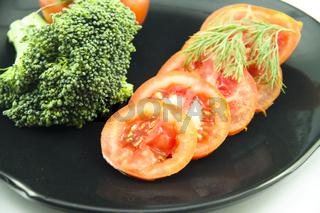 Tomaten mit Broccoli