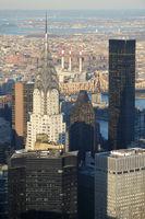 Chrysler Building Manhattan in New York City (USA)