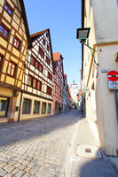 Old street in Rothenburg