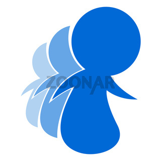Blue People Logo