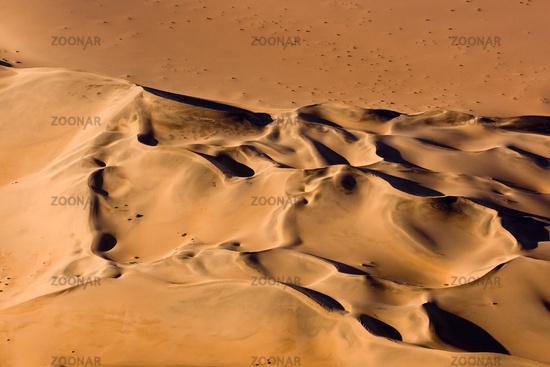 Over the desert (Namib)