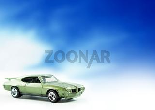 Pontiac GTO Toy Car