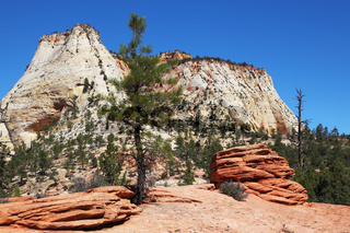 The picturesque hills of sandstone