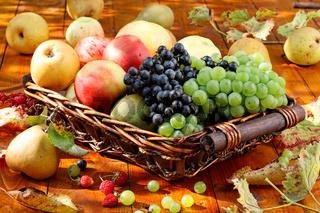 Obst auf dem Tisch.