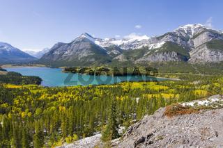 turquoise lake in fallturquoise lake in fall