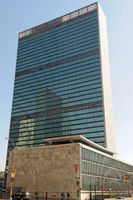 United Nations Building, Manhattan in New York Cit