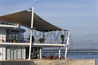 Restaurant am Hafen von Portimao