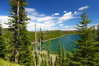 Duck Lake Yellowstone National Park